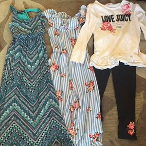 Other - Bundle of 3 beautiful girls size 8-12.